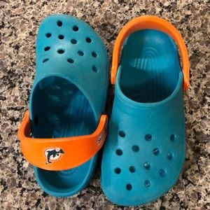 Kids Crocs Miami Dolphins